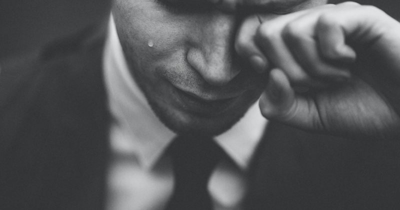 Real men do cry and why that is a good thing